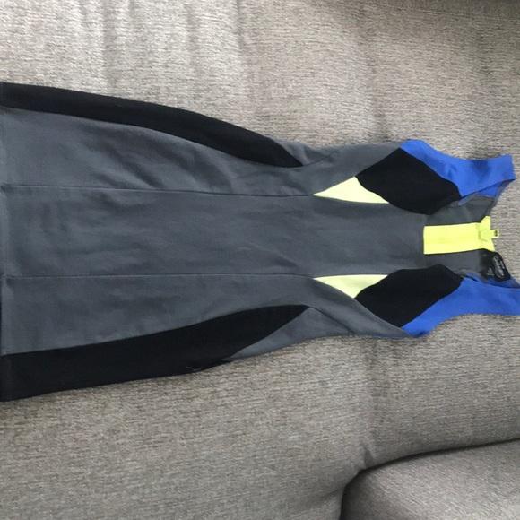 Bebe Colour Block Dress